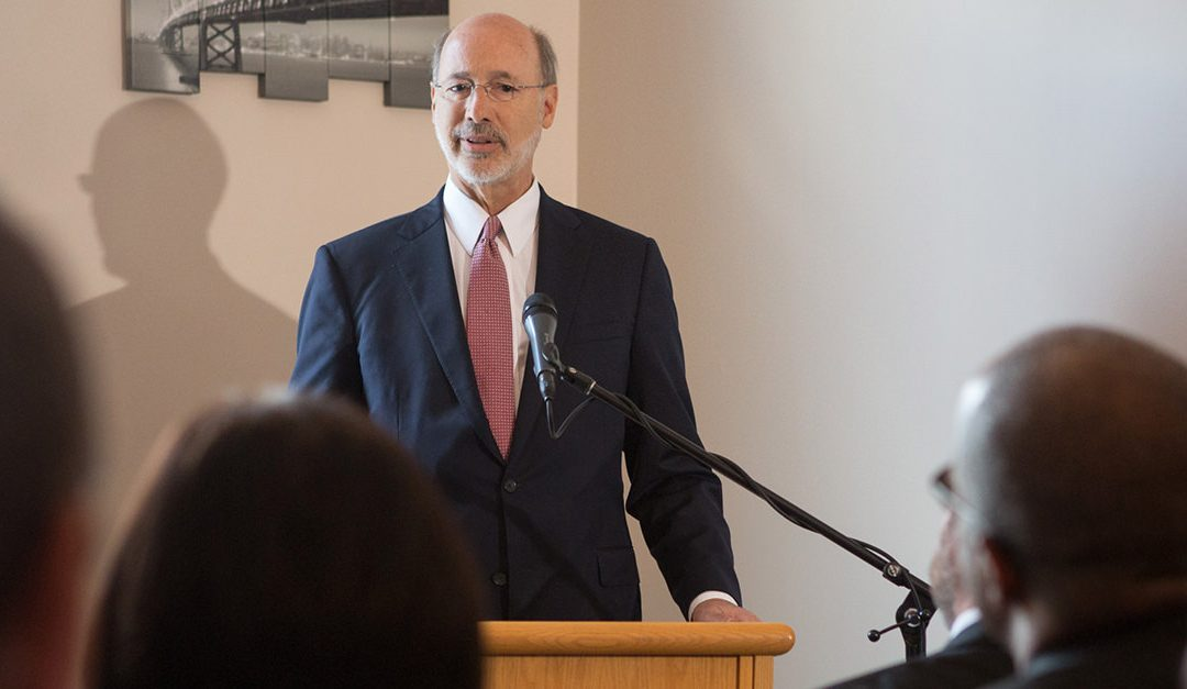 Governor Wolf Lauds New Prescription Drug Monitoring Program as Important Weapon in Fight Against Pennsylvania's Opioid Crisis